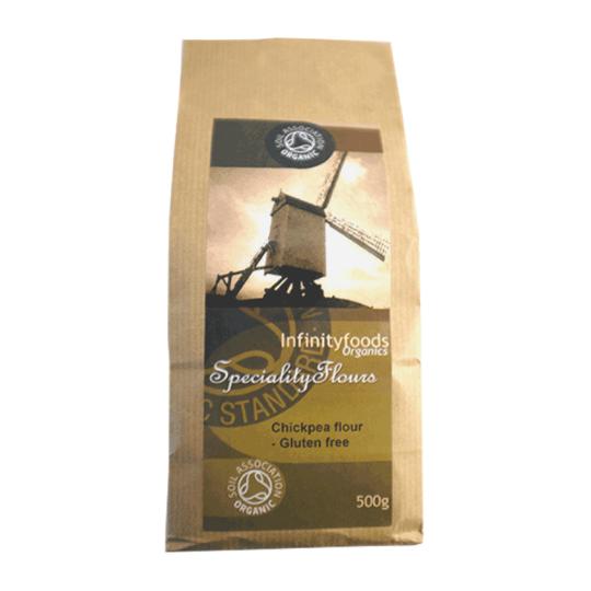 Chickpea (Gram or Chana Dahl) Flour 500g, Organic