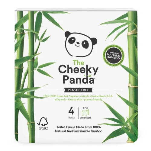 Cheeky Panda Loo Roll x 4 (Plastic Free)