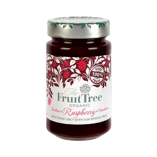 Raspberry Fruit Spread Organic, The Fruit Tree