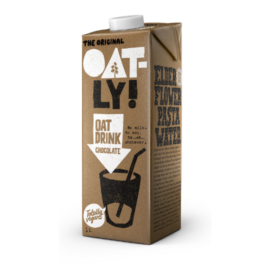 Chocolate Oat Milk, Oatly (Long Life)