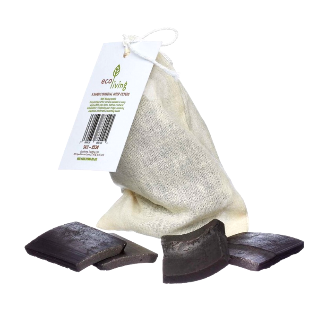 Bamboo Charcoal Water Filters 4 Pack