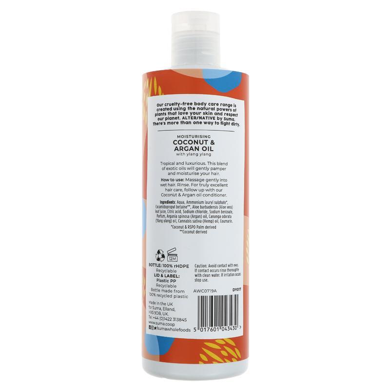 Alter/Native Coconut & Argan Oil Shampoo
