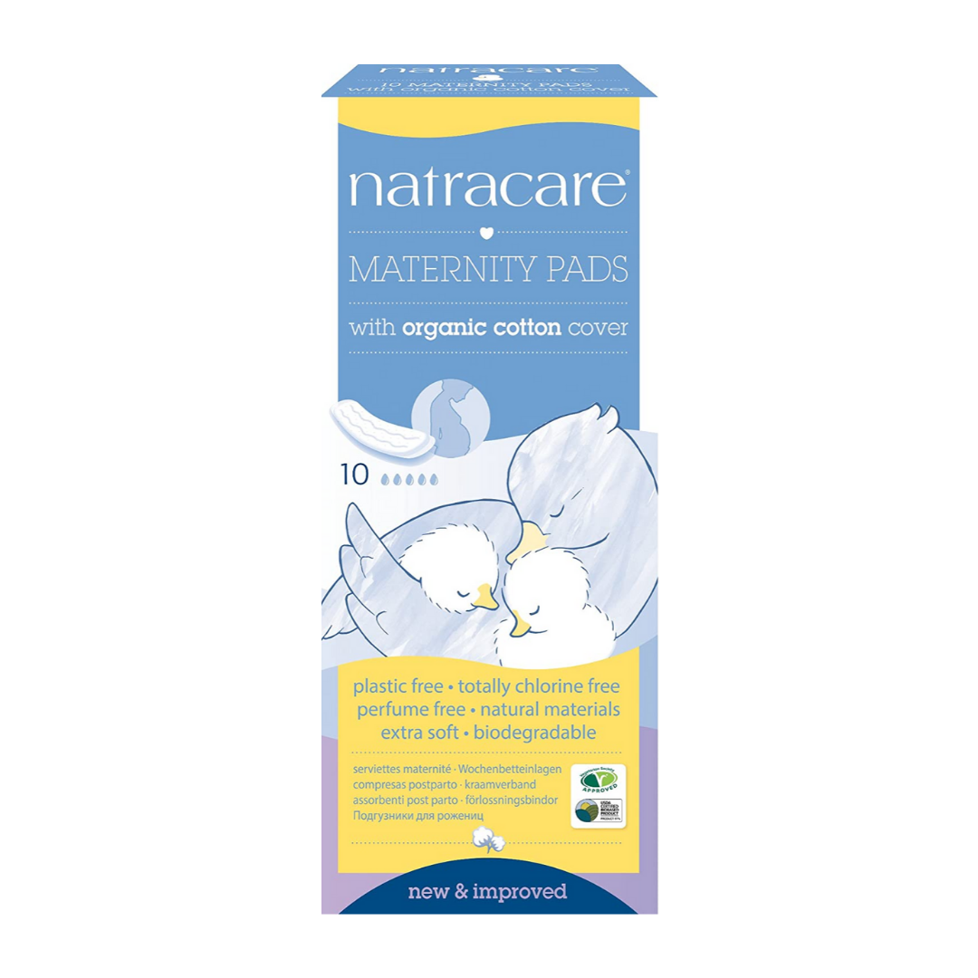 NatraCare Maternity Pads (x10)