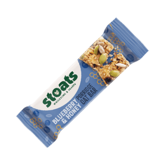 Blueberry & Honey Stoats Porridge Bar (50g)