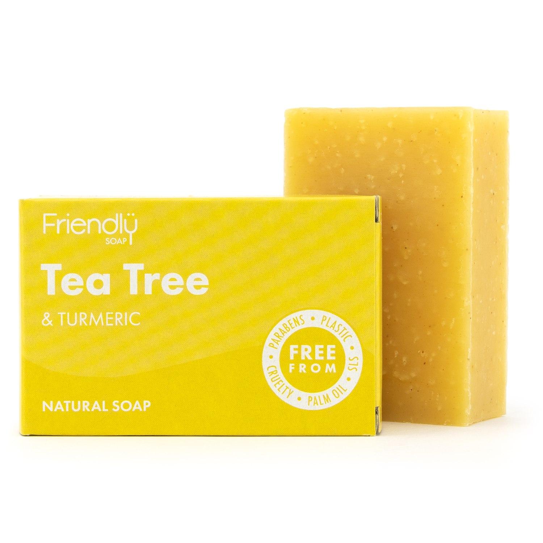 Friendly Natural Soap - Tea Tree & Tumeric