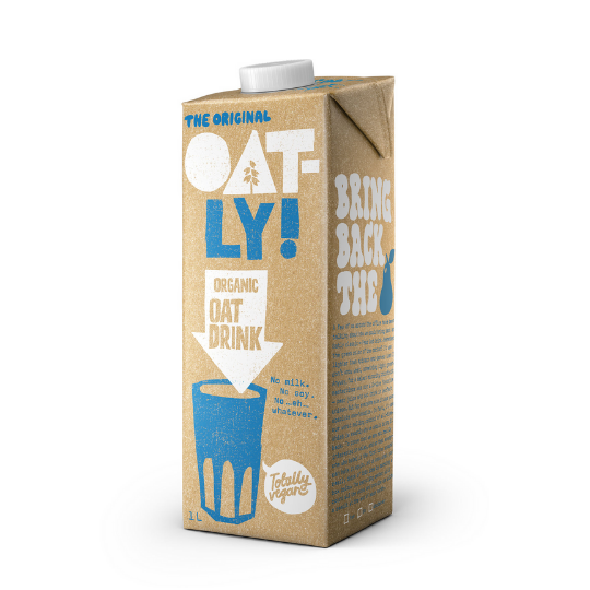 Oat Milk Organic, Oatly (Long Life)