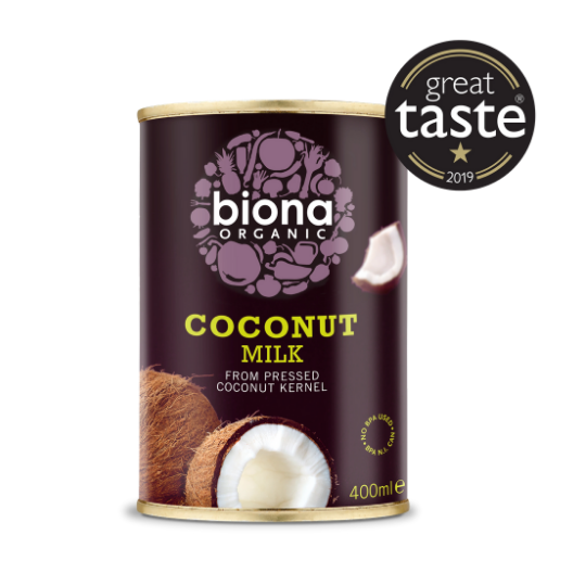 Coconut Milk, 400ml Organic