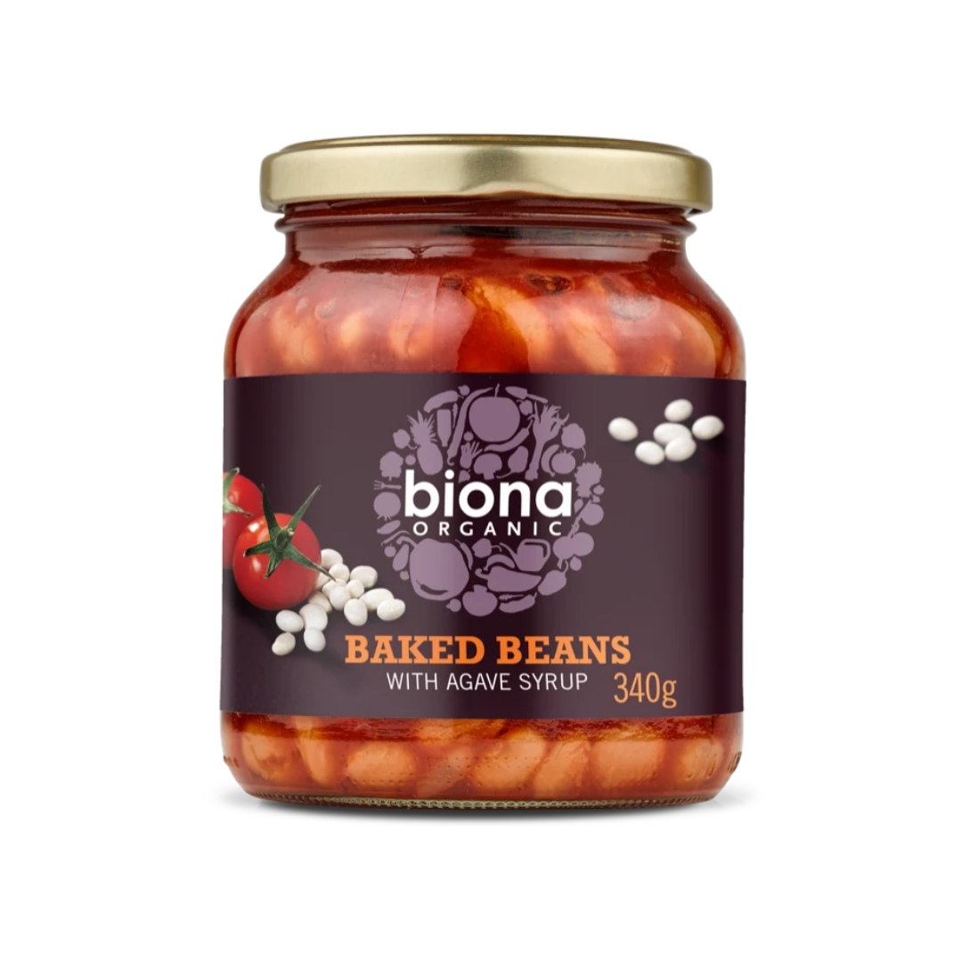 Baked Beans, Organic Biona