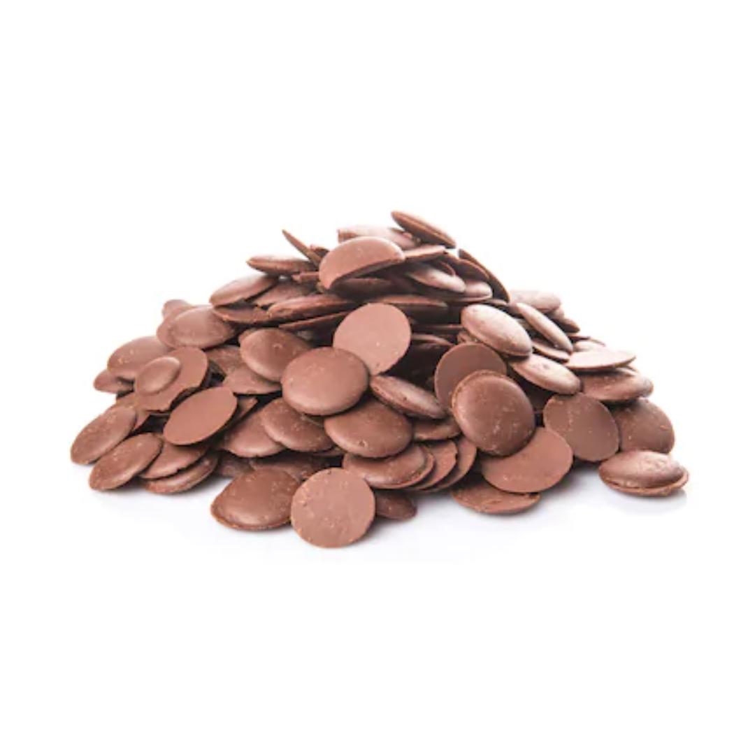Milk Chocolate Buttons, Organic