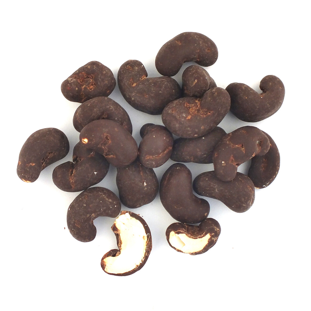 Dark Coconut Sugar Chocolate Cashews, Organic
