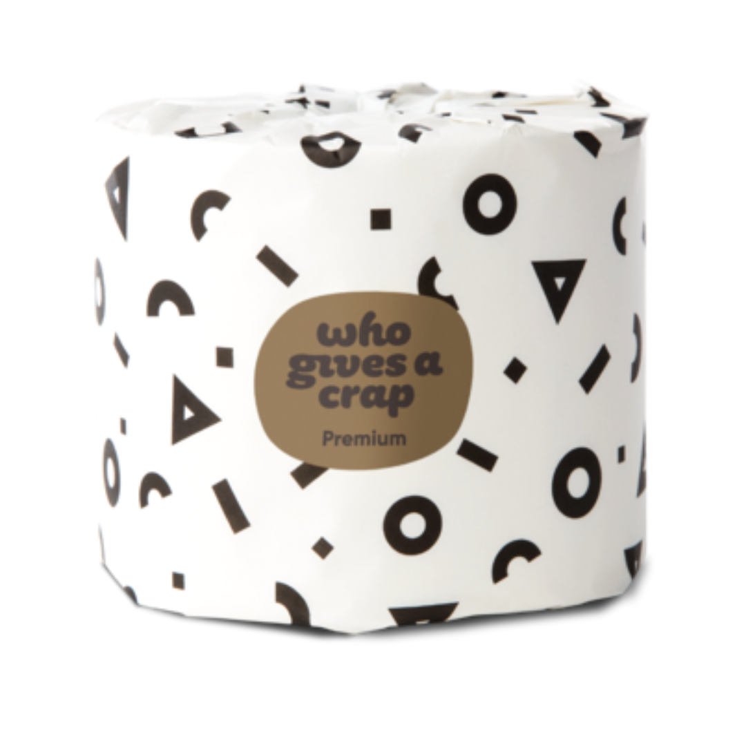 Premium Bamboo Toilet Roll - Double Length