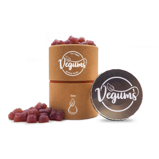 Vegums Iron Gummies - Vegan