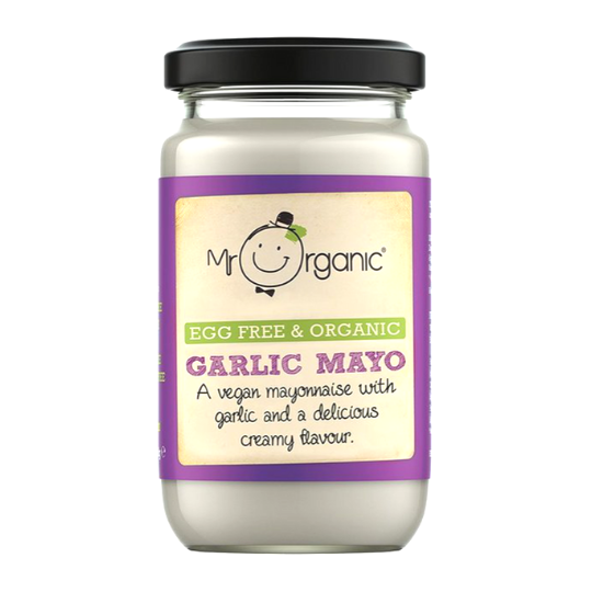Garlic Mayo (Vegan), Mr. Organic - 180g