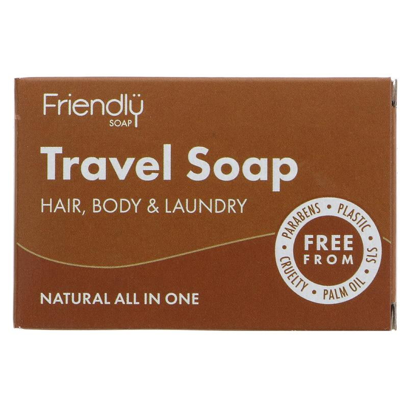 Friendly Travel Soap