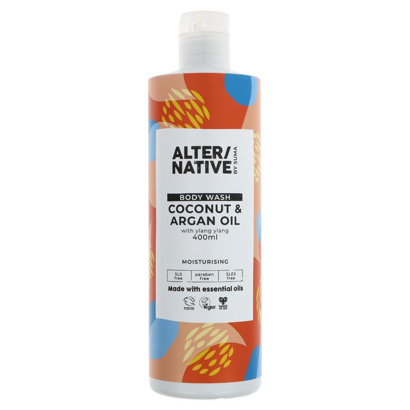 Alter/Native Coconut & Argan Oil Body Wash