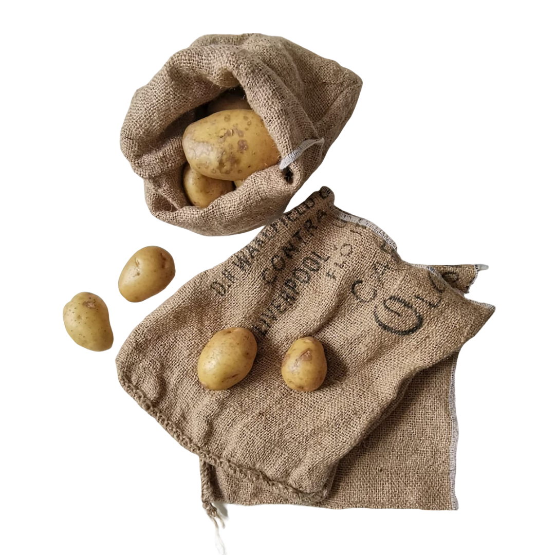 Hessian Potato Sack