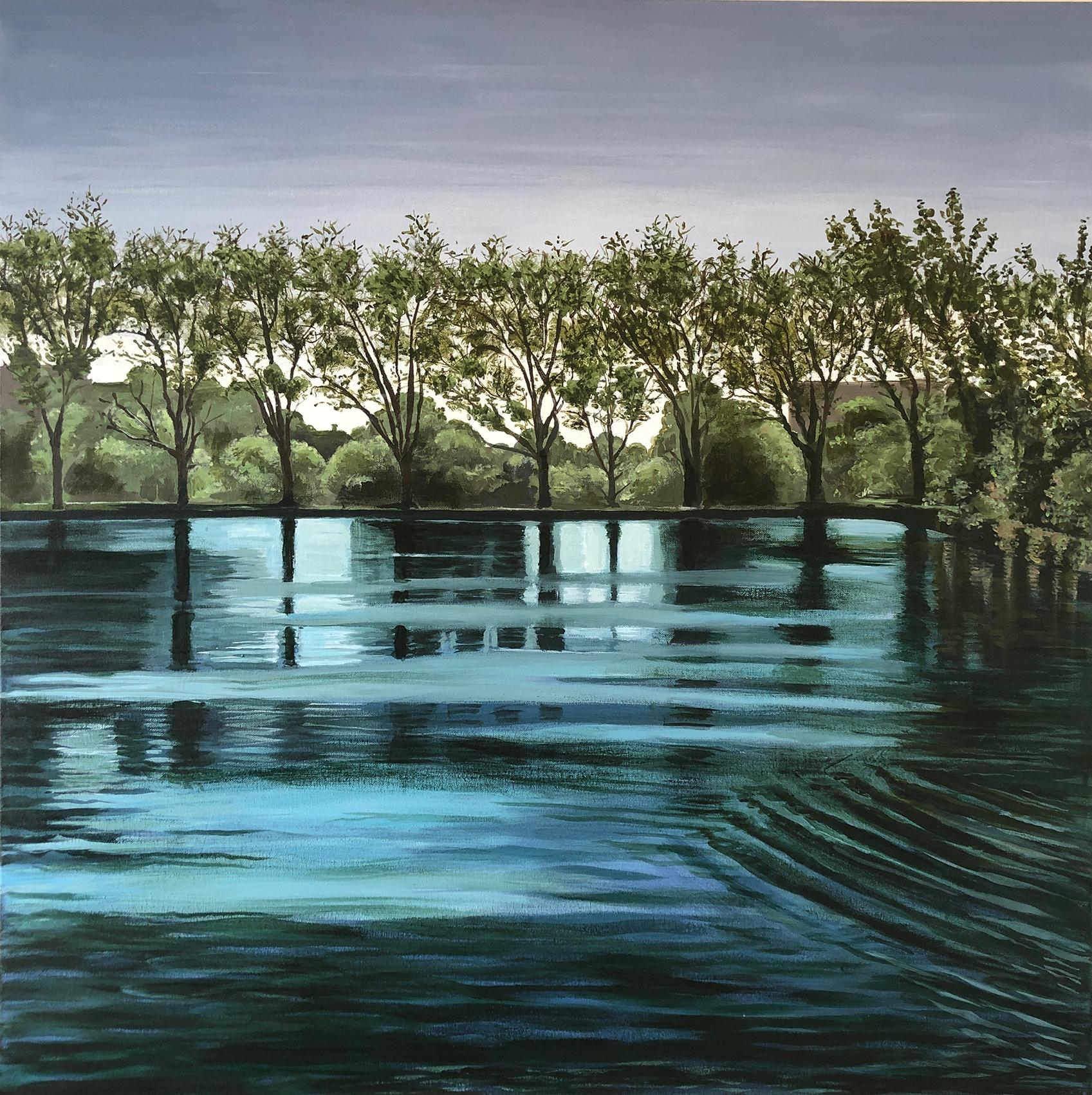 'Hamptead Pond, Looking South'