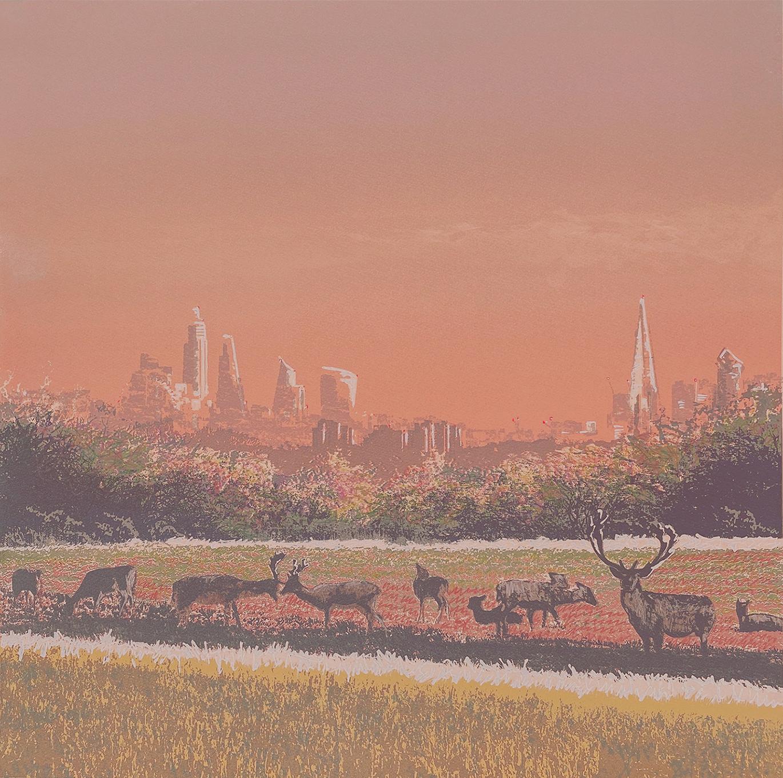Richmond Park, Dawn Deer II