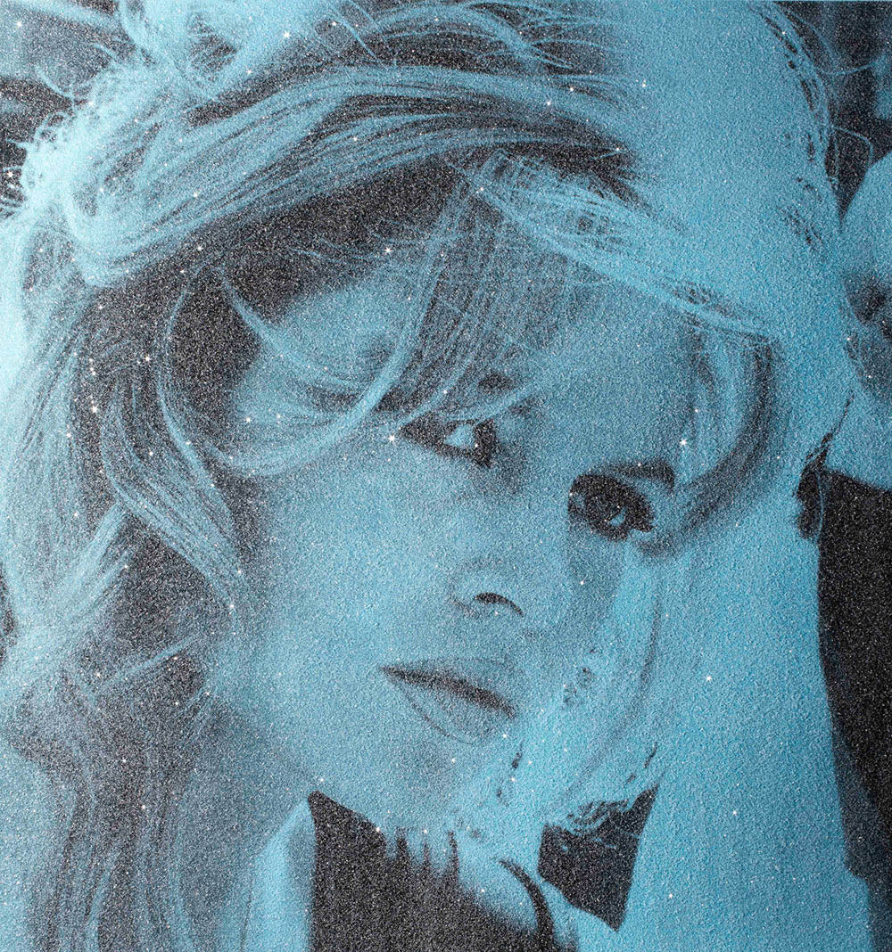 Brigitte Bardot with Diamond Dust