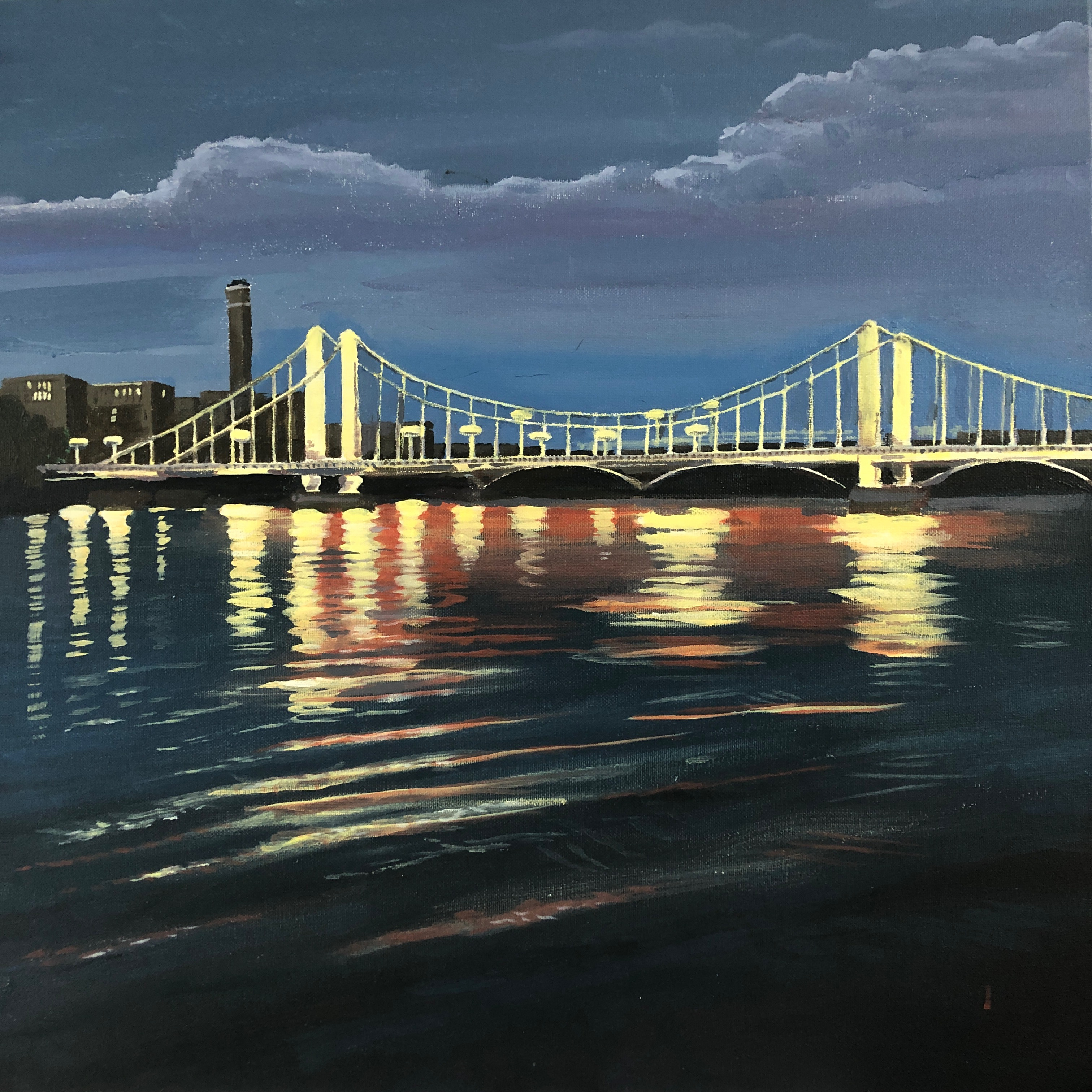 Midnight Swim, Albert Bridge