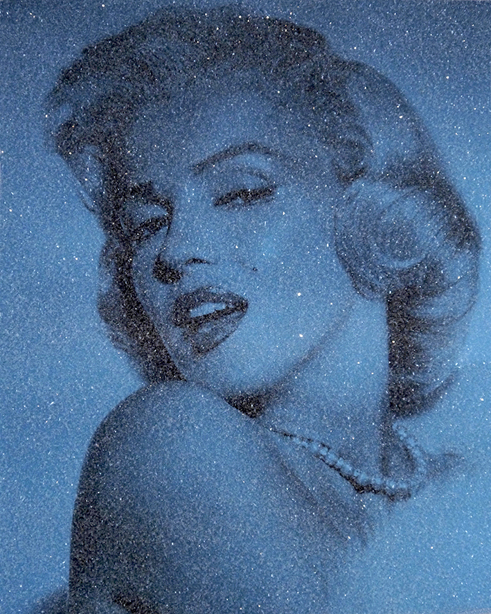 Marilyn Monroe with Diamond Dust