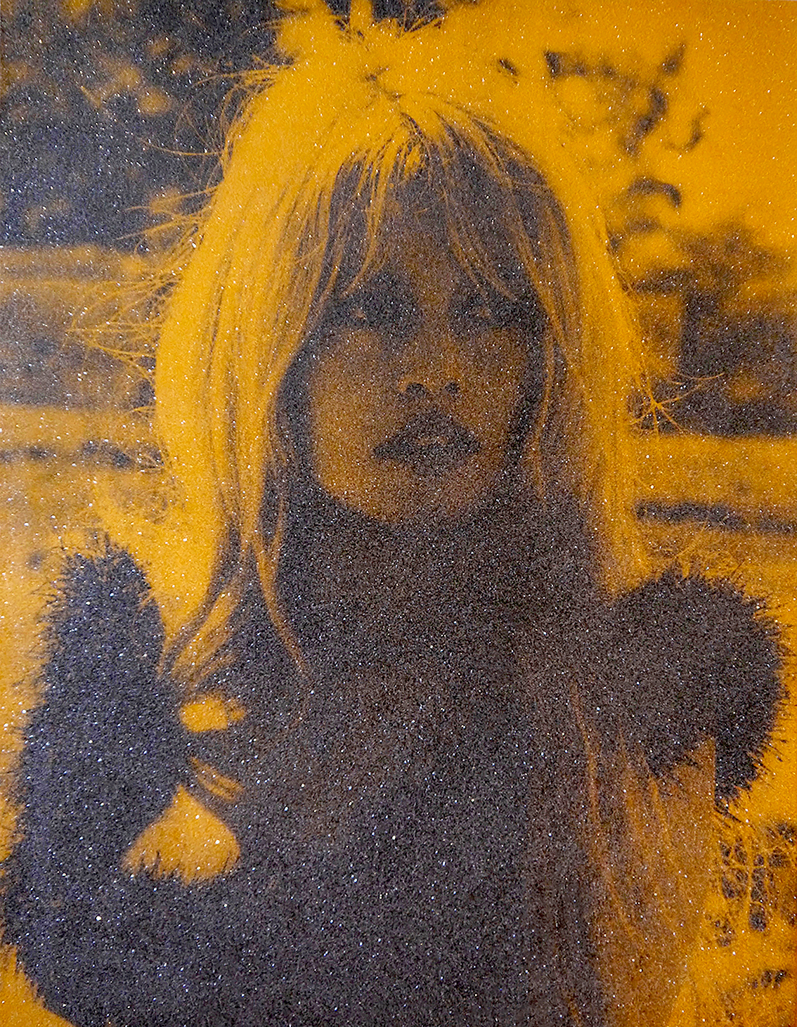 Brigitte Bardot - Sunset orange