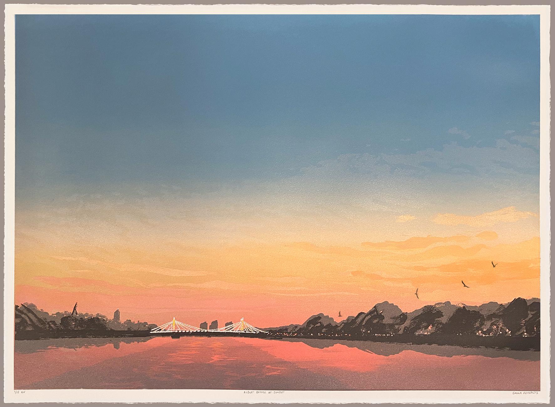 Albert Bridge, Sunset
