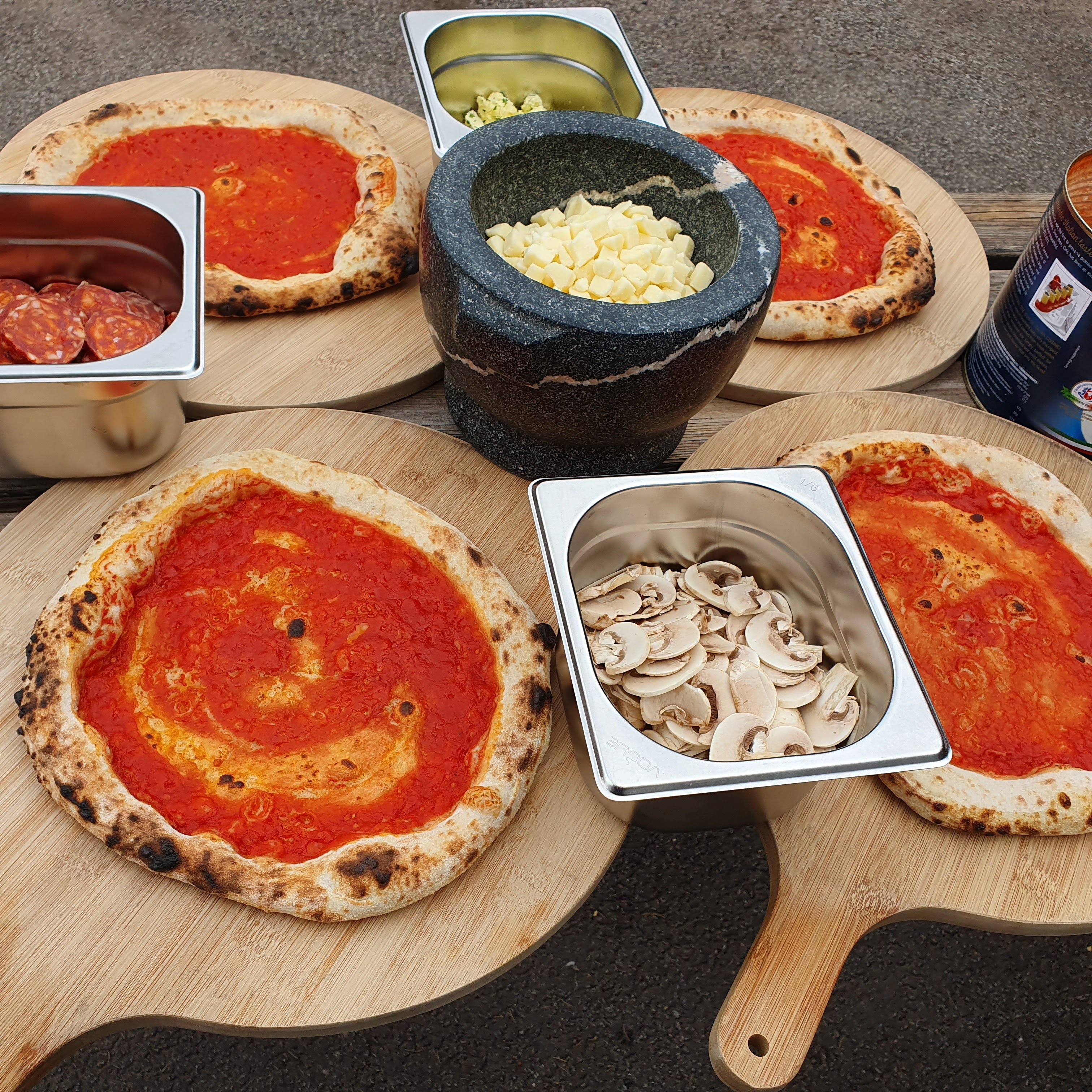 Click and Collect DIY Wood Fired Pizza Kit 4FOR£20 Offer