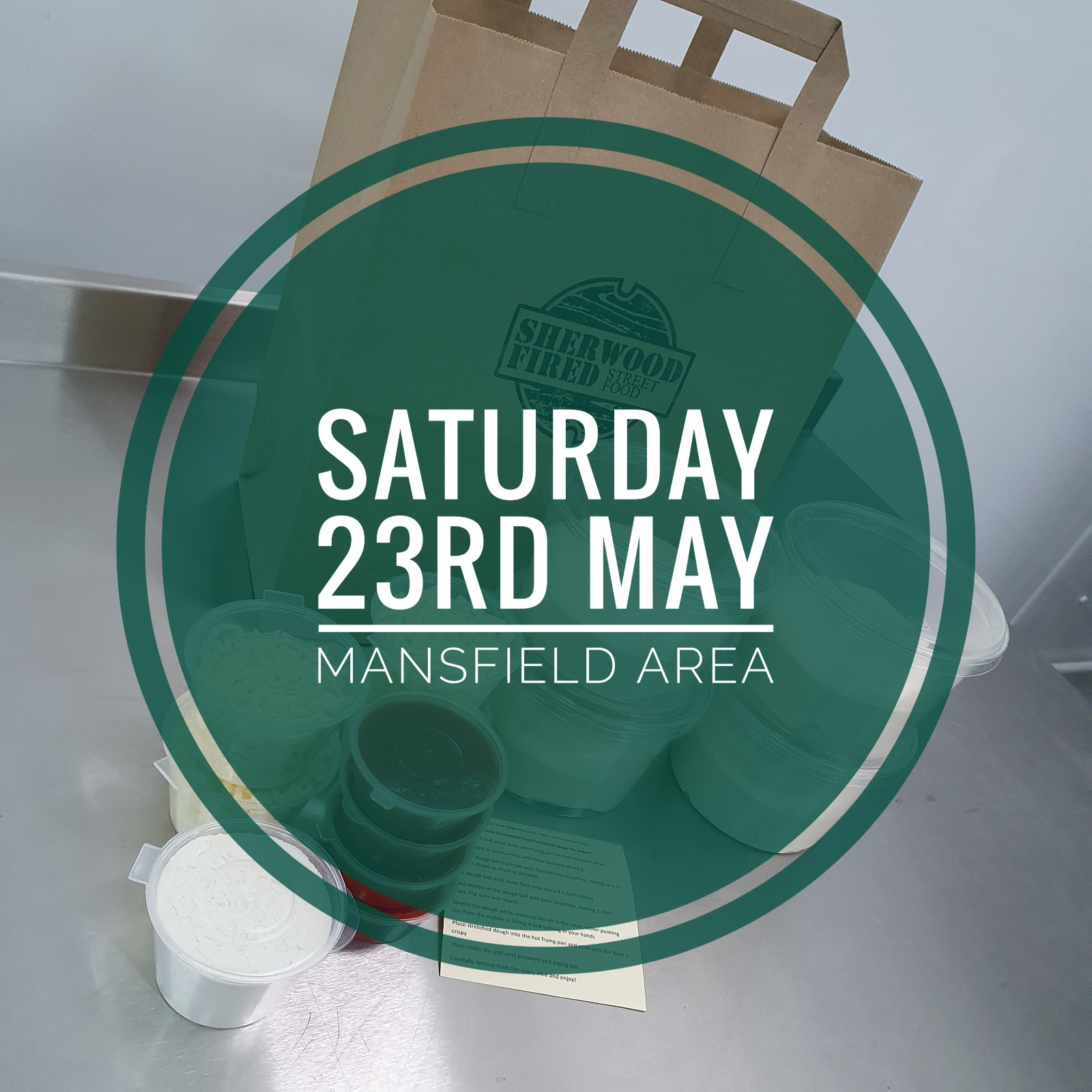 Sourdough Stretch and Bake Pizza Kit (SATURDAY 23rd MAY - MANSFIELD AREA)