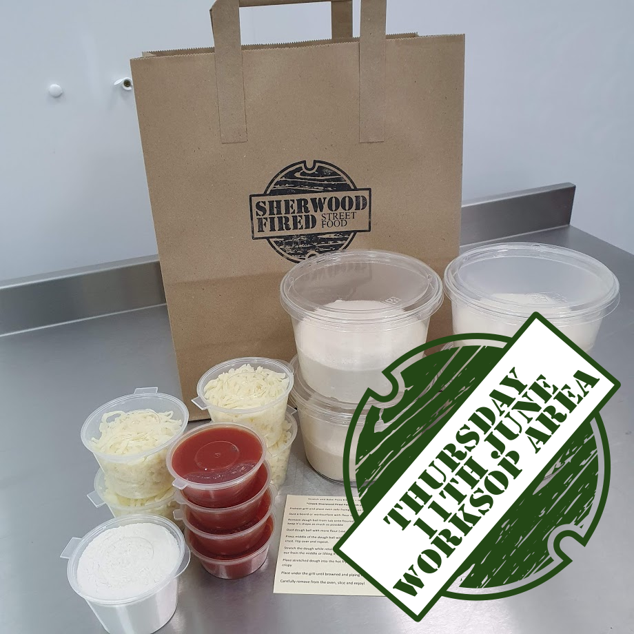 Sourdough Stretch and Bake Pizza Kit (THURSDAY 11th JUNE WORKSOP AREA)
