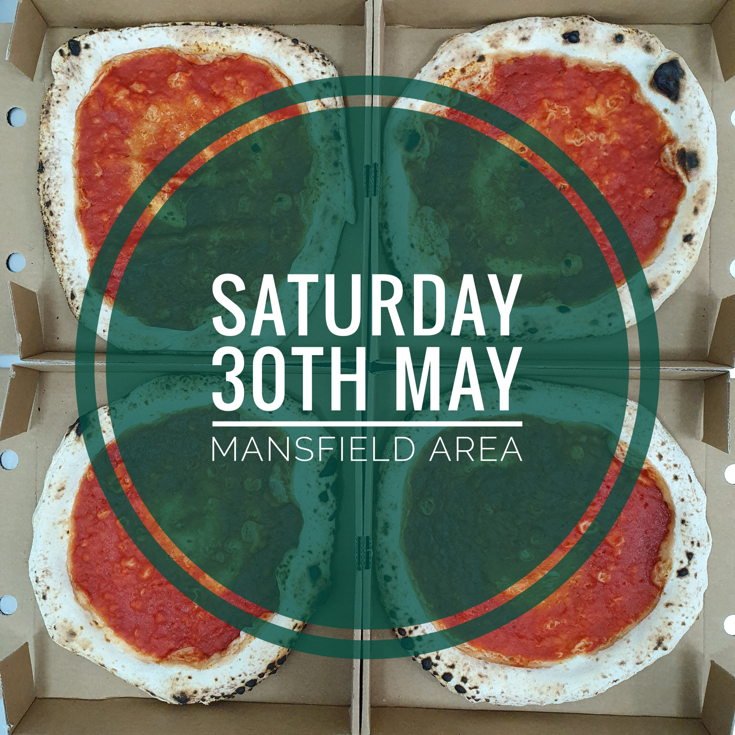 Sourdough Wood Fired Pizza Kit (SATURDAY 30th MAY MANSFIELD AREA)