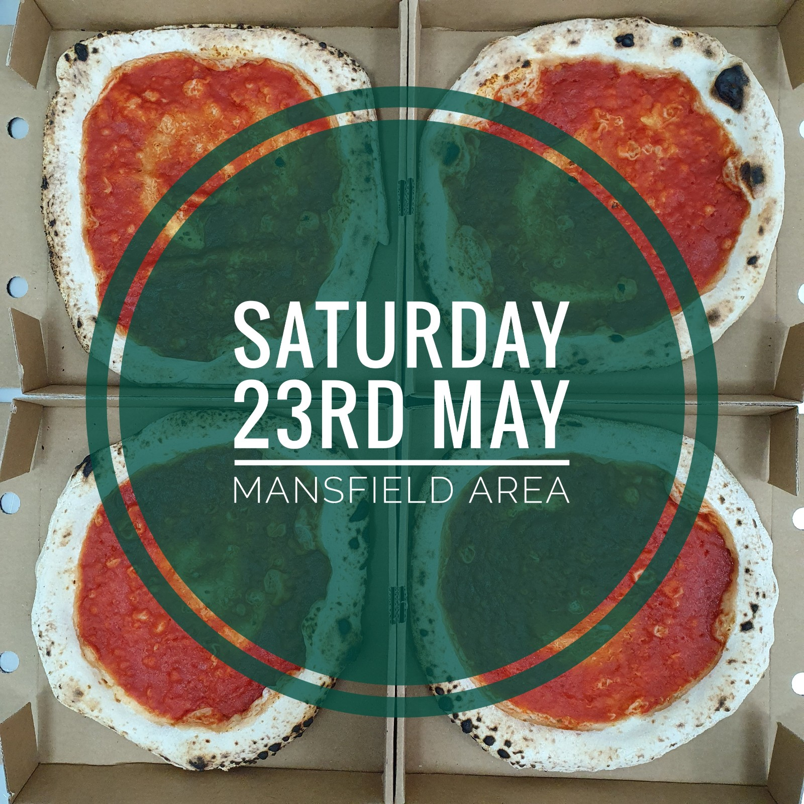 Sourdough Wood Fired Pizza Kit (SATURDAY 23RD MAY MANSFIELD AREA)