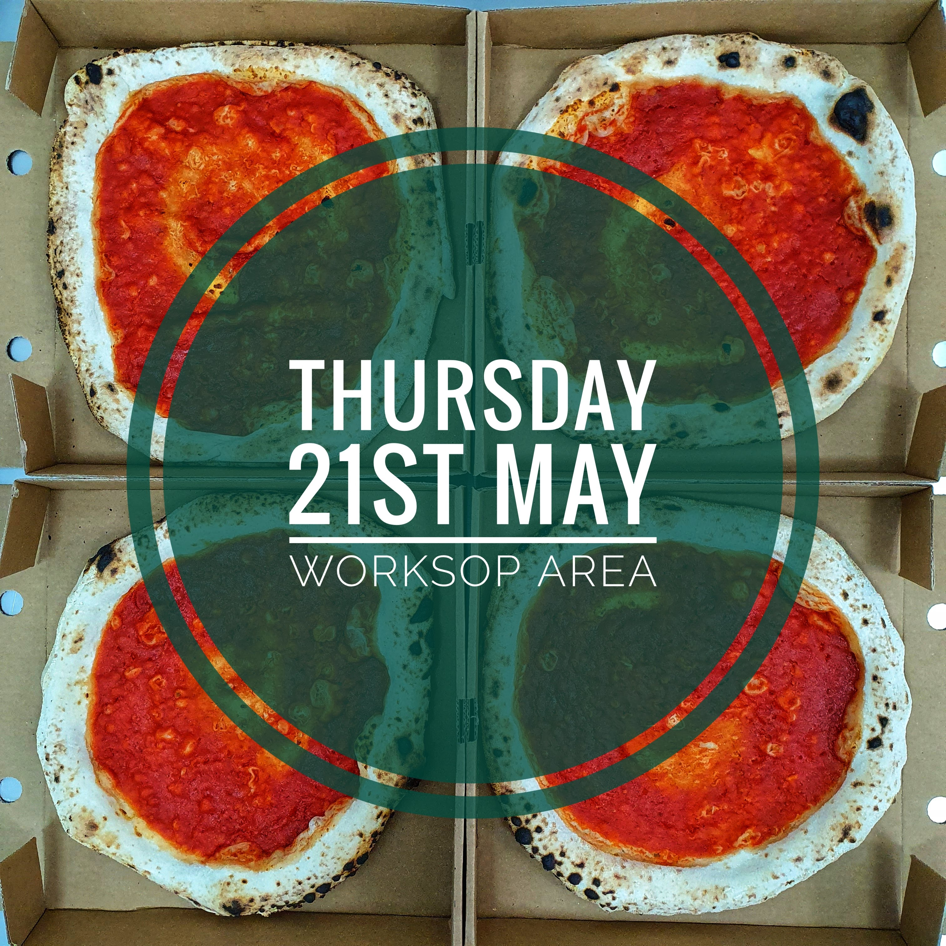 Sourdough Wood Fired Pizza Kit (THURSDAY 21st MAY WORKSOP AREA)