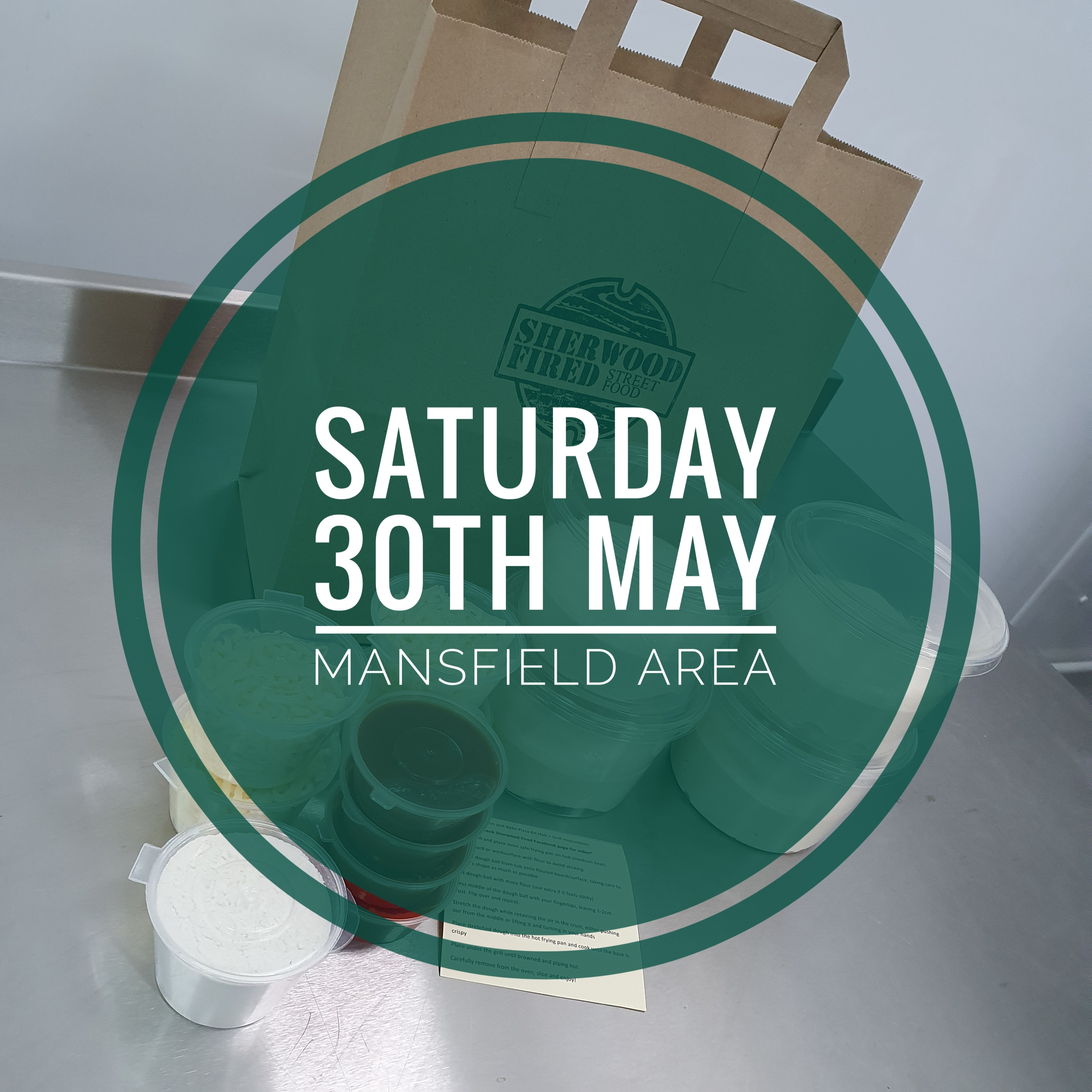 Sourdough Stretch and Bake Pizza Kit (SATURDAY 30th MAY - MANSFIELD AREA)