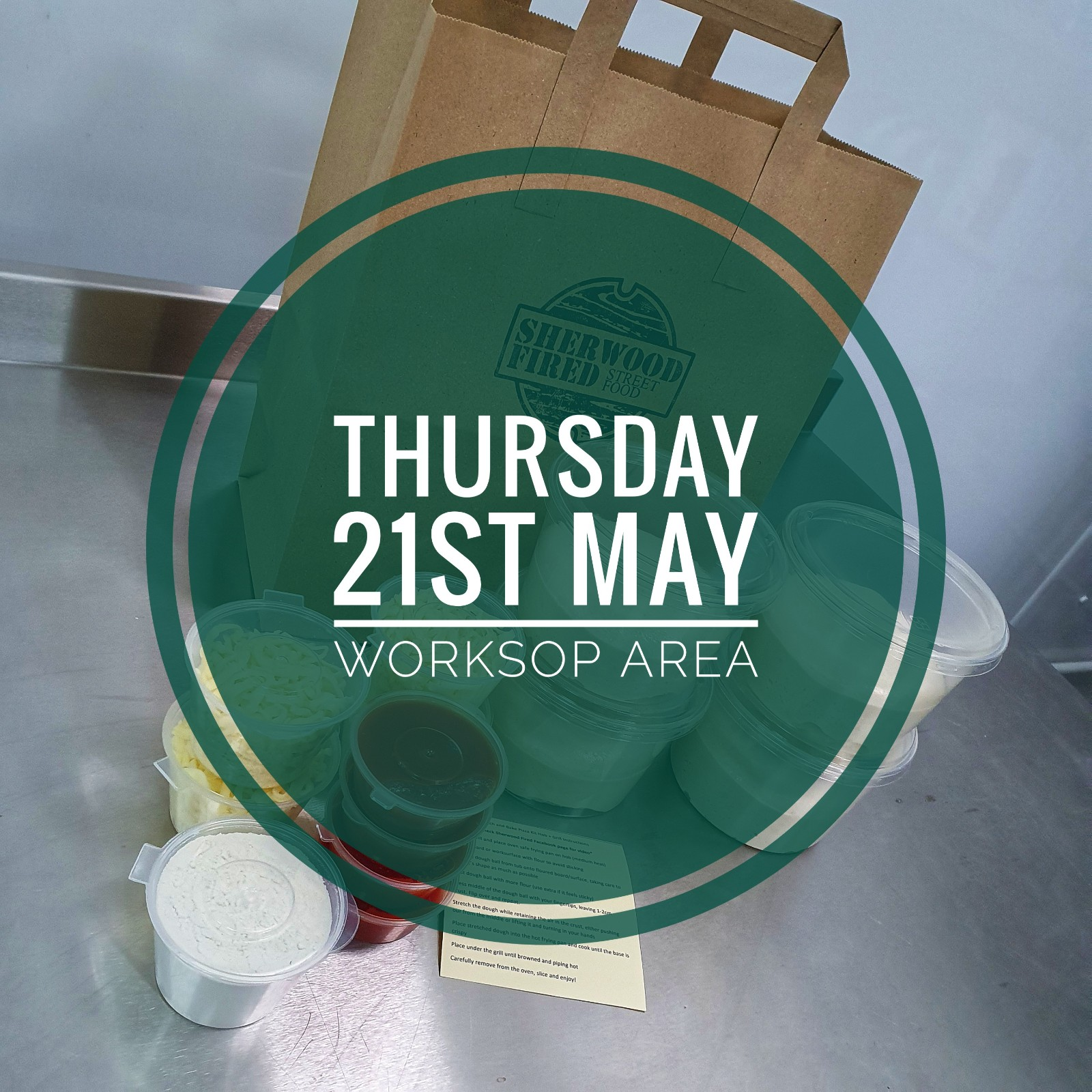 Sourdough Stretch and Bake Pizza Kit (THURSDAY 21st MAY WORKSOP AREA)