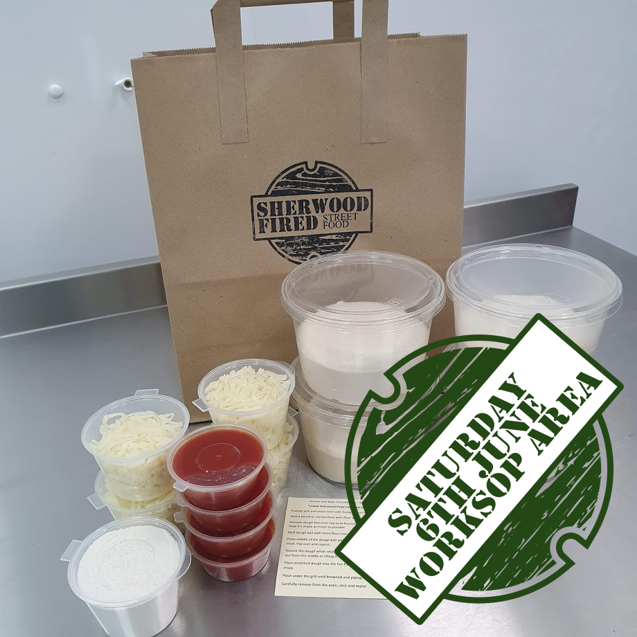 Sourdough Stretch and Bake Pizza Kit (SATURDAY 6th JUNE - MANSFIELD AREA)