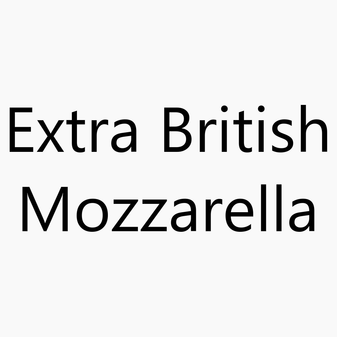 Extra British Mozzarella