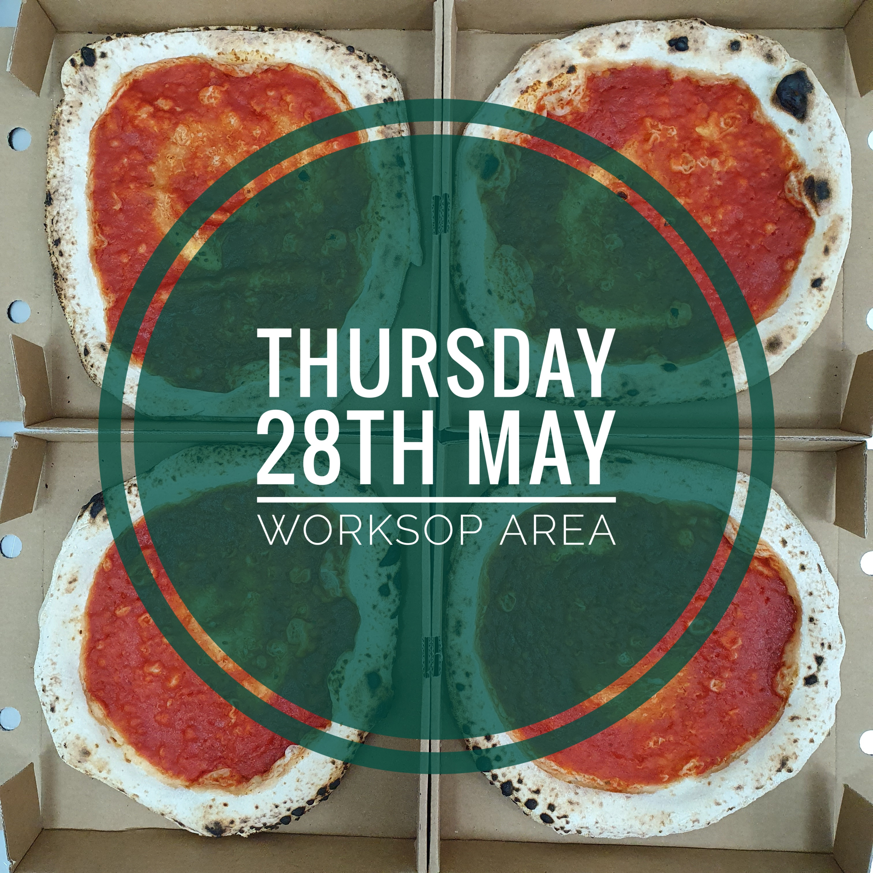 Sourdough Wood Fired Pizza Kit (THURSDAY 28th MAY WORKSOP AREA)