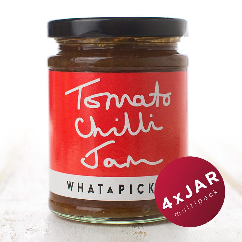 4 x Tomato Chilli Jam