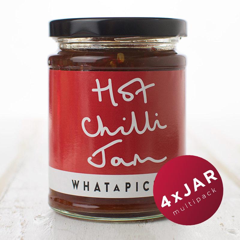 4 x Hot Chilli Jam
