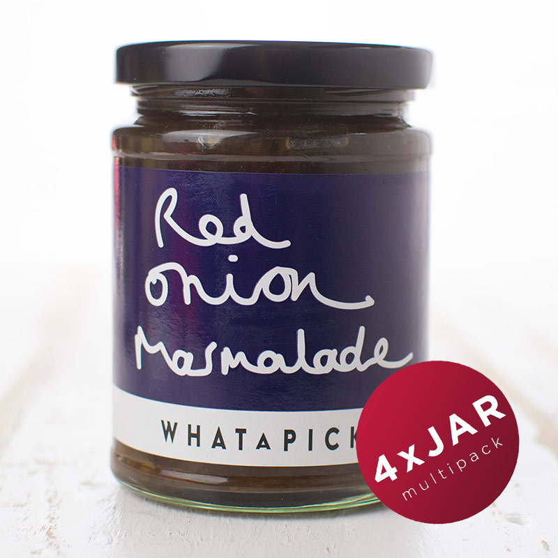 4 x Red Onion Marmalade