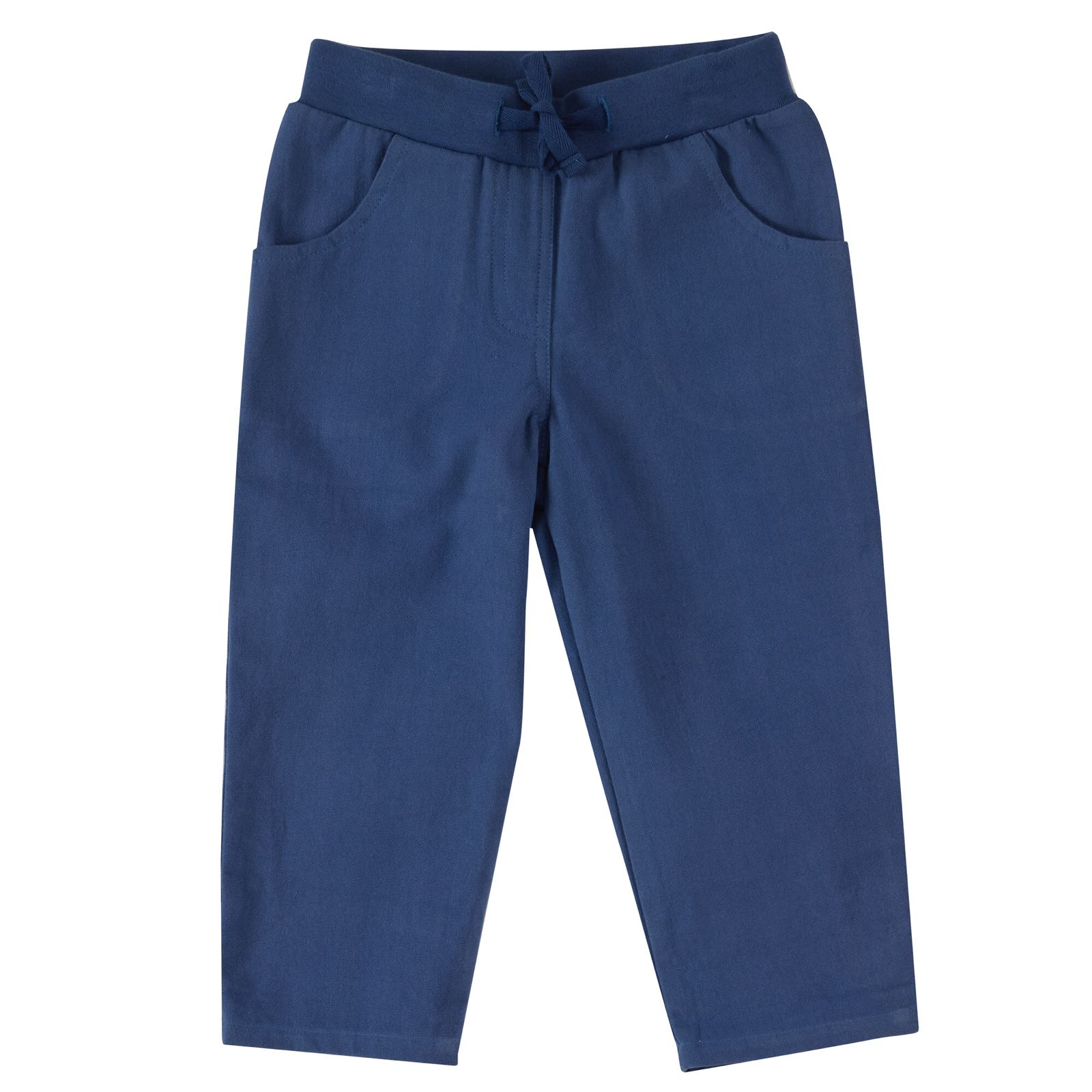 Pigeon - canvas trousers - delft blue