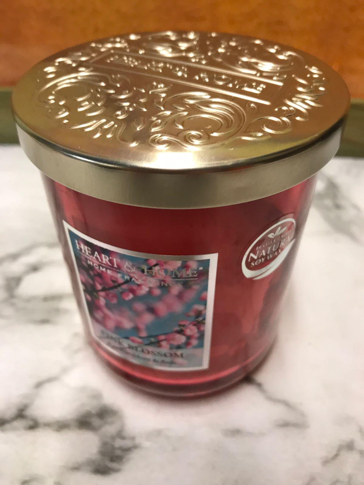 Doftljus 340 g. Körsbärsblomningen & anis. Ecofriendly - soja vax.