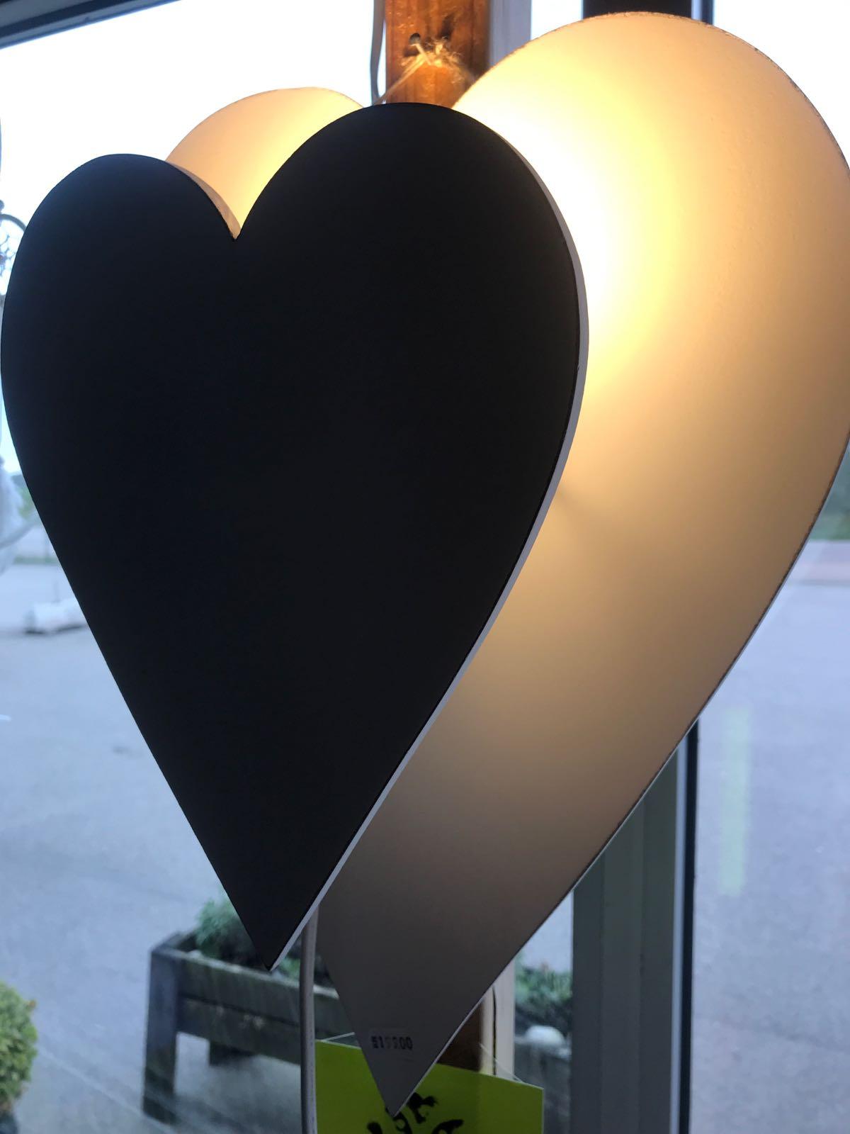 Hjärta lampa