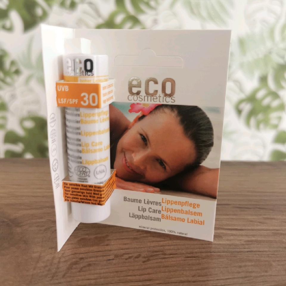 Eco Cosmetic Solläppbalsam SPF 30