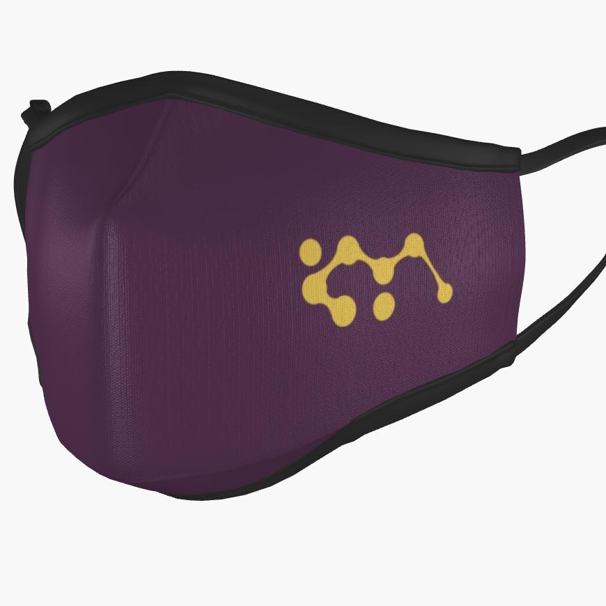 IKYA Facemask Purple - left
