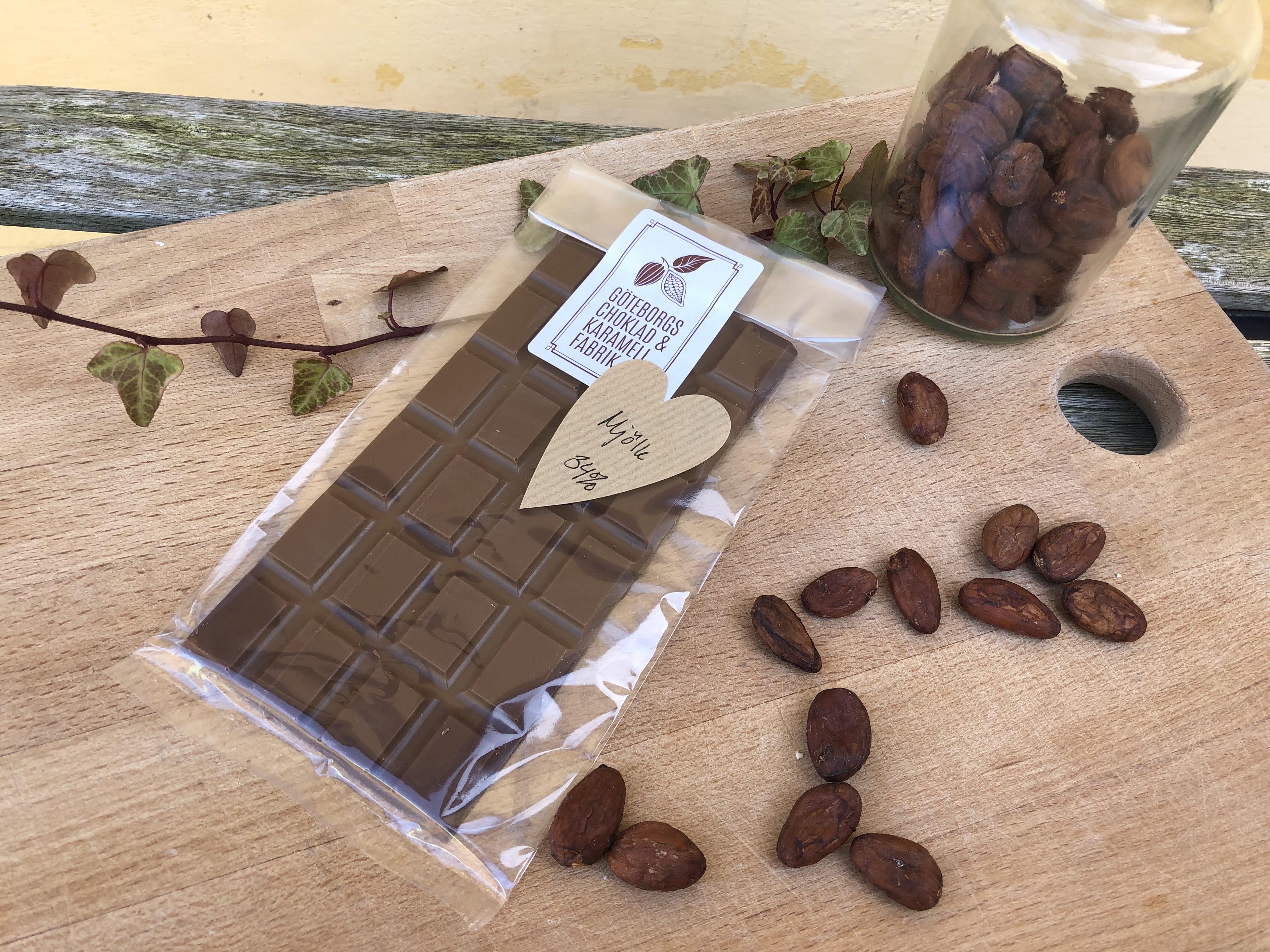 Våra egna chokladkakor