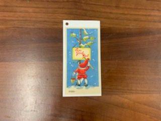 Julkort Litet (Hängetikett)
