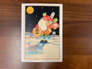 Julkort med kuvert