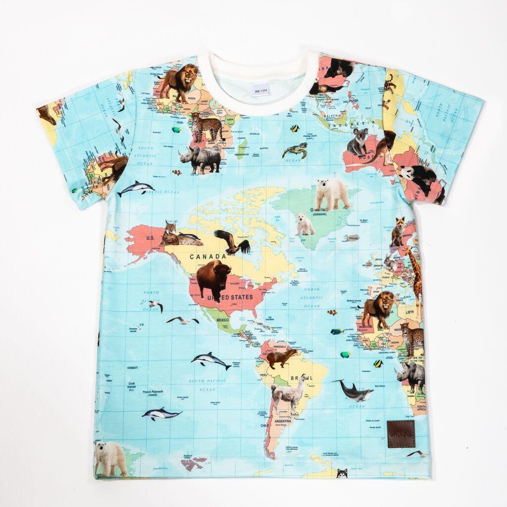 Kartta t-paita